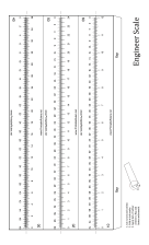 Engineer Scale 12-inch Ruler